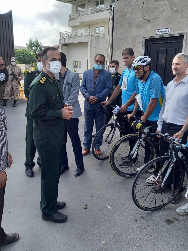 IMG 20210603 WA0095 - اعزام کاروان دوچرخه سواری مازندران به مرقد امام راحل