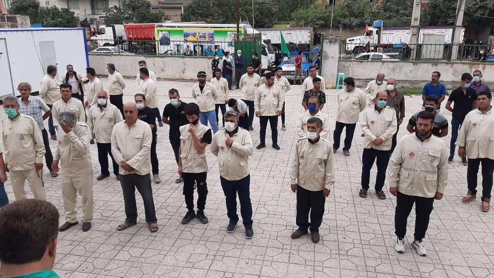 IMG 20210925 153403 593 - برگزاری رژه نمادین کامیون داران نکایی جامانده از اربعین حسینی