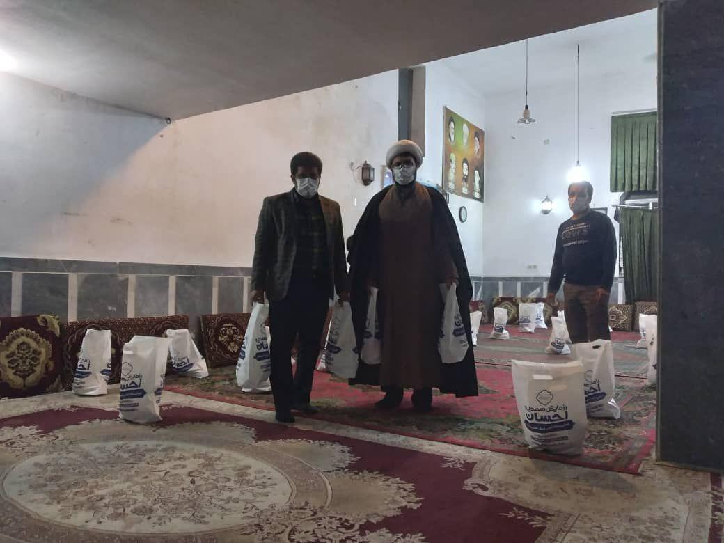 IMG 20210927 115533 354 - دستگیری از نیازمندان به همت کانون امام علی(ع) نکا درشب اربعین