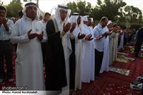 نماز عید فطر در ساری و اهواز