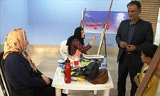 برگزاری کارگاه تخصصی نقاشی در هفته قرآن و عترت ایلام