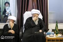 مراسم عزاداری شهادت امام محمد باقر(ع) در دفاتر مراجع عظام تقلید در قم