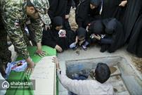 مراسم تشییع پنج شهید مدافع حرم در قم