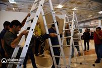 روز اول نمایشگاه و عدم آمادگی بسیاری از غرفه ها/آیا فاصله نمایشگاه کتاب با نمایشگاه قرآن کافی نبود