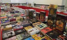 برپایی نمایشگاه کتاب به مناسبت روز خبرنگار در ساوه