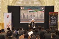 مراسم بزرگداشت شهدای حادثه تروریستی اهواز و طلبه مظلوم شهید محمد تولایی برگزار شد