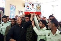 پیکر مطهر شهید مدافع وطن «مرتضی کارچانی» در اراک تشییع شد