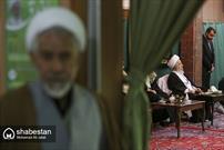 مراسم عزاداری شهادت امام حسن عسکری در بیوت مراجع عظام تقلید