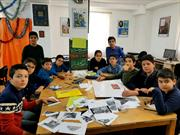 کلاس های پرشور قرآن کریم در کانون های خمین/داوطلبانه هایی در مسجد