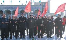 حضور خادمان اعتاب مقدسه ایران در گردهمایی سربازان امام زمان(عج)