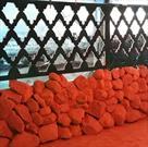 نمایشگاه یاس کبود در مسجد صاحب الزمان(عج) اراک
