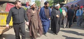 موکب شهدای کانون فرهنگی هنری روستایی خور افتخار کانونهای مساجد البرز است