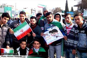 راهپیمایی باشکوه ۲۲بهمن در ساری