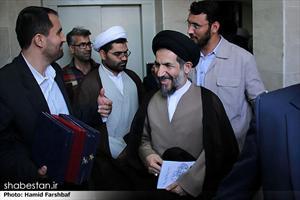 حجت الاسلام ابوترابی فرد در مراسم افتتاح مسجد و حسینیه یزدی آباد در مشهد مقدس