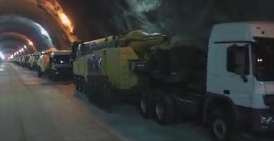 نخستین تصاویر از پایگاه موشکی ایران در اعماق ۵۰۰ متری زیر زمین + فیلم