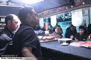 عزاداری در خیابان های تهران