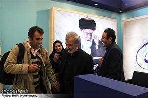 دکتر غفوری فرد در پنجمین روز نمایشگاه مطبوعات و خبرگزاری ها - غرفه ی شبستان