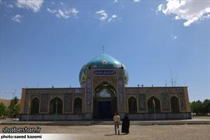 آستان مقدس امامزاده عبدالله روستای کارشک - قاین