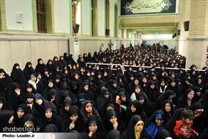 دیدار شرکت کنندگان در مسابقات قرآن کریم با رهبر معظم انقلاب