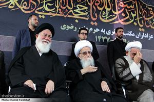 اجتماع عظیم صادقیون و تشییع شهدای گمنام در مشهد