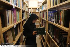 روز جهانی مساجد- کتابخانه یک مسجد در تهران