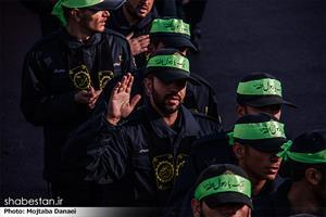 آئین عزاداری نیروهای مسلح در البرز