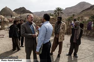 جناب آقای حسن خانی دستیار ویژه رئیس کمیته امداد امام خمینی (ره) در مناطق محروم جنوب استان کرمان