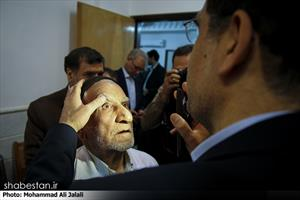 دیدار وزیر بهداشت با مراجع تقلید در قم