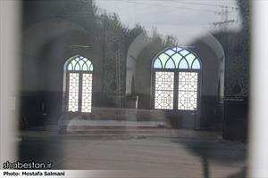 مسجد صاحب الزمان(عج) در جاده ندوشن یزد