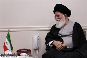 دیدار وزیر فرهنگ و ارشاد اسلامی با آیت الله علم الهدی