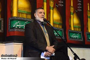 مراسم عزاداری و سوگواری رحلت آیت الله هاشمی رفسنجانی در اهواز