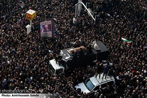 مراسم تشییع پیکر آیت الله هاشمی رفسنجانی (۲)