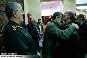 مراسم یازدهمین سالگرد شهادت سرتیپ پاسدار احمد کاظمی و شهدای عرفه