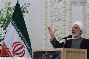حجت الاسلام مجید انصاری، معاون حقوقی رئیس جمهور در مراسم گرامیداشت آیت الله هاشمی رفسنجانی (ره) در شیراز