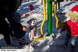 جشنواره آدم برفی در سنندج