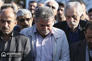 تشییع عارف لرستانی در کرمانشاه