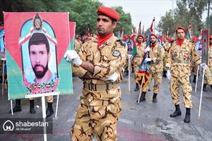مراسم رژه روز ارتش جمهوری اسلامی ایران