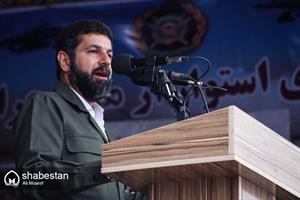 مراسم رژه روز ارتش جمهوری اسلامی ایران- دکتر غلامرضا شریعتی استاندار خوزستان