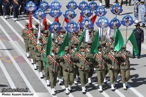 رژه روز ارتش درهمدان
