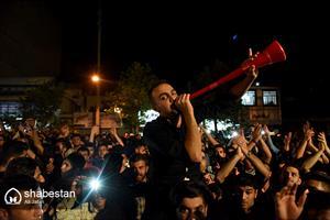 جشن پیروزی انتخابات هواداران دکتر روحانی درایلام