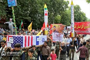 راهپیمایی روز جهانی قدس در گرگان