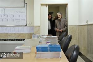 بازدید حداد عادل از دوره های آموزش زبان فارسی به دانشجویان غیر ایرانی