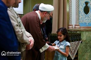 حجت الاسلام والمسلمین حمیدرضا ارباب سلیمانیآیین اختتامیه هفتمین جشنواره کتابخوانی رضوی