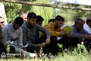 برگزاری مراسم دعای عرفه درمزار شهدای گمنام ایلام