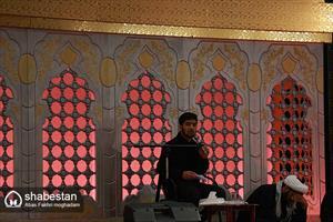 برپايي نمايشگاه پيام هاي عاشورايي اوقاف بوشهر در همایش «احلی من العسل»
