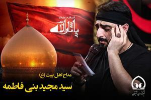 مداحی سید مجید بنی فاطمه شب دهم محرم ۹۶
