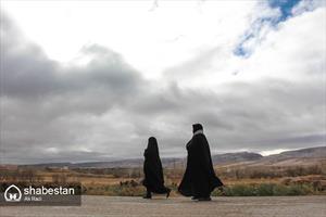 زائران پیاده حرم امام رئوف