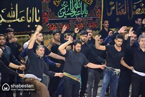 مراسم عزاداری سنتی بوشهری ها بمناسبت شهادت امام رضا (ع) در مسجد النبی (ص)