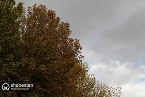 آخرین روزهای پاییز طبیعت اصفهان