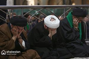 مراسم عزاداری شهادت حضرت زهرا (س) در حرم مطهر رضوی